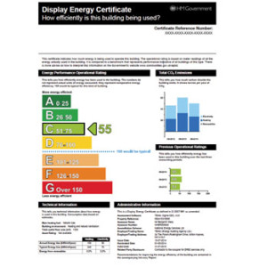 Display Energy Certificate
