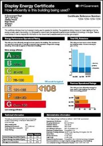 Display Energy Certificate