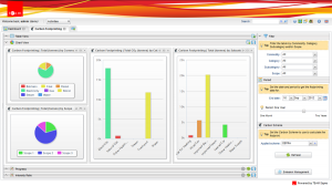 Greenhouse Gas Reporting Service Screenshot
