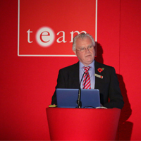 Paul at the the DoubleTree by TEAM User Group Conference 2015
