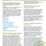 ESOS Newsletter Issue 1