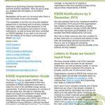 ESOS Newsletter Issue 1