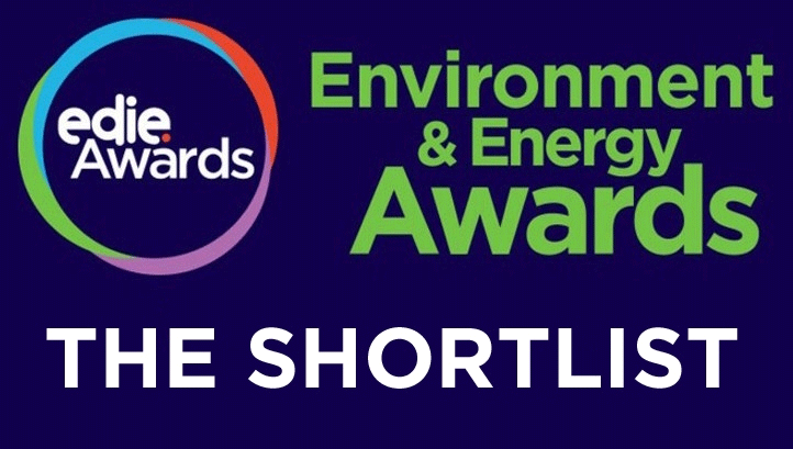 edie Environment and Energy Awards 2016 Shortlist