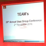2016 TEAM User Group Conference
