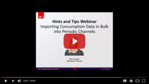 TEAM's Hints and Tips Webinar Importing