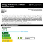 Non-Domestic Energy Performance Certificate (EPC)