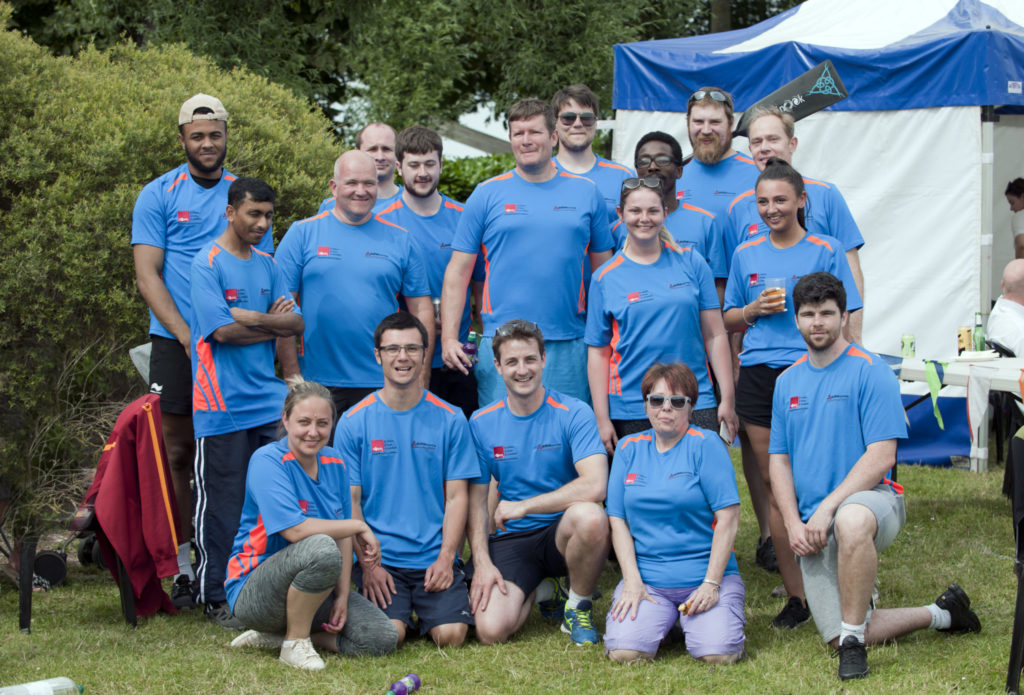 TEAM and EDW compete in charity fundraising Dragon Boat Festival