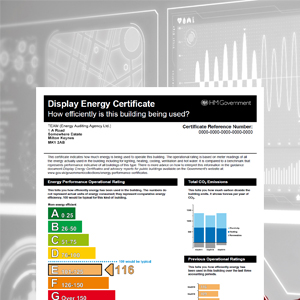 Display Energy Certificates: A closer look