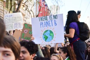 Protest image sign